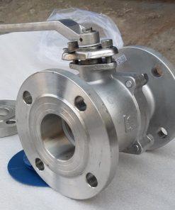 THP valve - Van bi inox mặt bích tay gạt Wonil Hàn Quốc